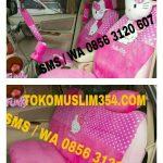 Sarung Jok Mobil Ayla Katakter Hello Kitty Murah