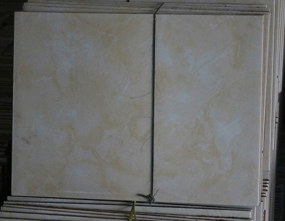 Keramik BS Potong Kediri warna kream 30 x 40 cm