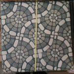 Keramik lantai motif kasar Ukuran 50 x 50 cm - DEWANTARA KERAMIK -