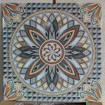 keramik lantai 40 x 40 Arwana Sahara Grey gy abu abu pare kediri
