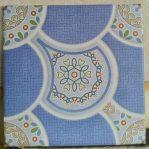 keramik lantai kamar mandi 25 x 25 uno akita blue biru pare kediri