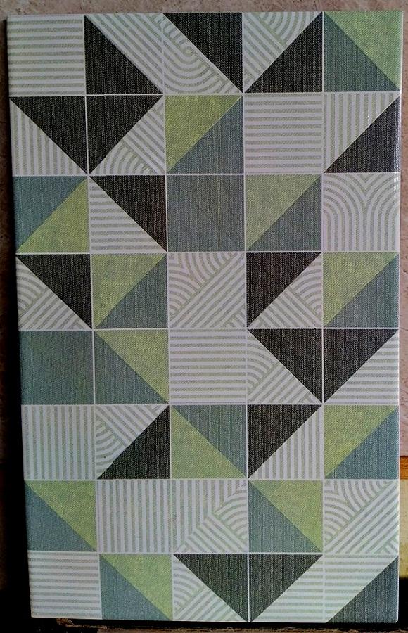 Keramik Dinding 25 x 40 Platinum Brooklyn Green Pare Kediri