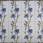 keramik dinding 25 x 40 uno valentino biru pare kediri