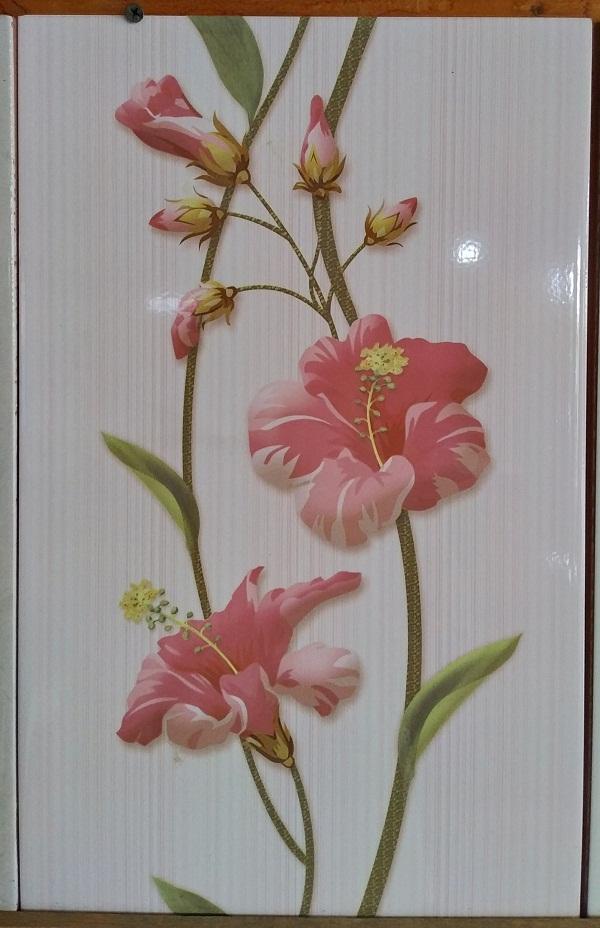 Keramik Dinding 25 x 40 Uno Valentino Pink Pare Kediri