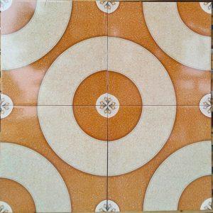 Keramik lantai 40 x 40 arwana mars coklat sekoto pare kediri