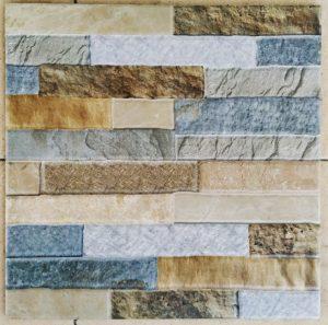Keramik Lantai 40 x 40 Arwana Gladiator Brown Sekoto Pare Kediri