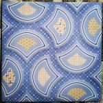 Keramik Lantai Kamar Mandi 25 x 25 Uno Nobu Blue Sekoto Pare Kediri