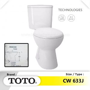 Harga Distributor Agen Closet Kloset WC Duduk TOTO Di Surabaya Pare Kediri