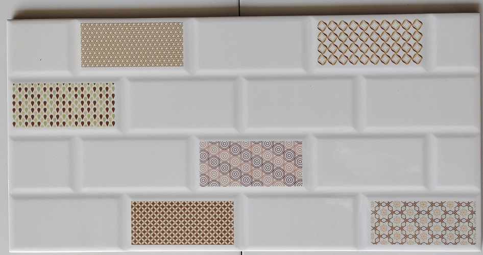 keramik dinding 25 x 50 Uno Firenze Beige Sekoto Pare Kediri