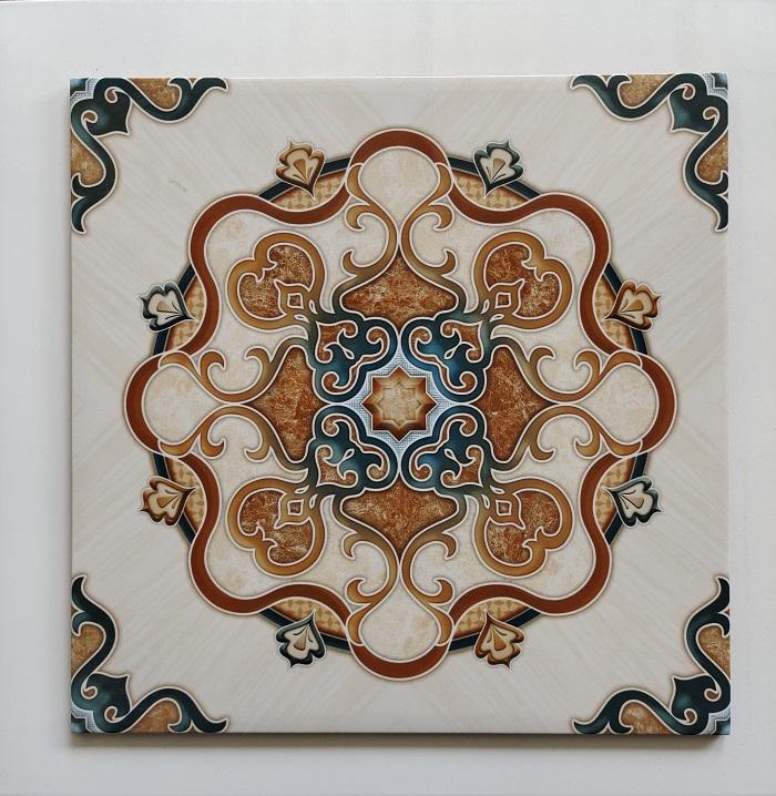 keramik lantai 40 x 40 Arwana andromeda brown sekoto pare kediri