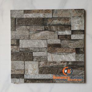 Keramik Lantai Kasar 40 x 40 Accura Canyonland GY Motif Batu Alam Dewantara Keramik