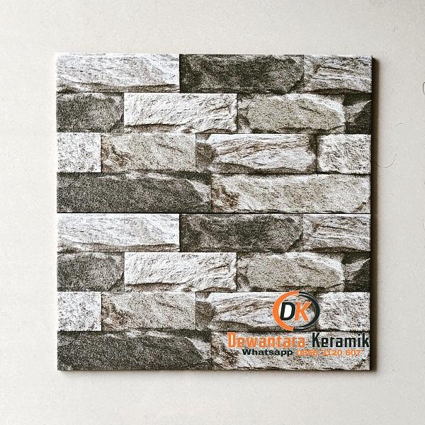 Keramik Dinding Batu Alam 25 x 50 Uno Oxford GY Dewantara Pare Kediri